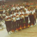 Rückblick DM1980: Sechser-Kunstradsport der Frauen