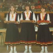 Rückblick DM1980: Medaillen-Mädchen