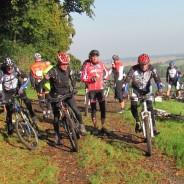 Mit dem Mountainbike über Feld- und Waldwege durch den Stemweder Berg