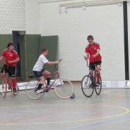 Heimspieltag für die U17 Radballer — Landesliga spielt in Leeden