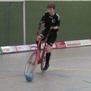 In Oelde starteten die U15 Radballer erfolgreich in die Saison