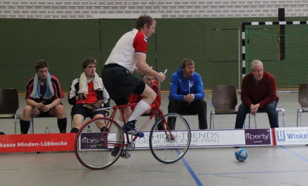 Letzter Saisonspieltag der Radball Landesliga