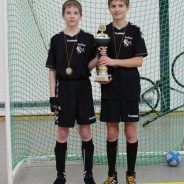 Niedermehner U15 Radballer gewinnen Verbandspokal