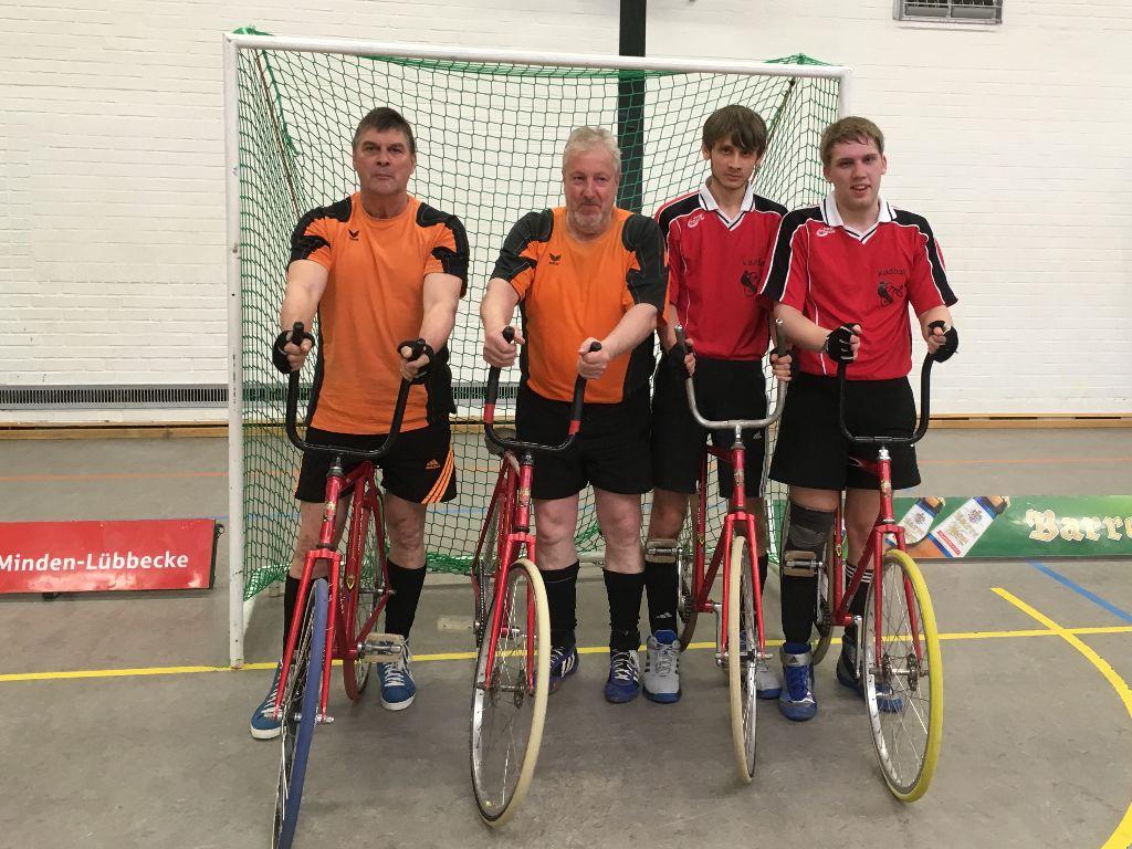 Wankelmann / Reddehase sichern sich Platz 3 in der Radball Landesliga