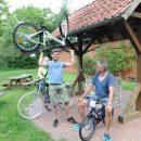 46. Niedermehner Volksradfahren und Rad-Schieß-Rallye mit großer Resonanz