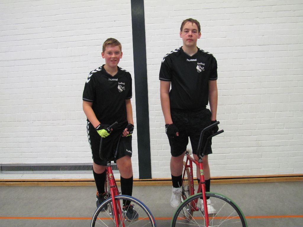 U17 Radballer erster Verfolger des Spitzenquartetts