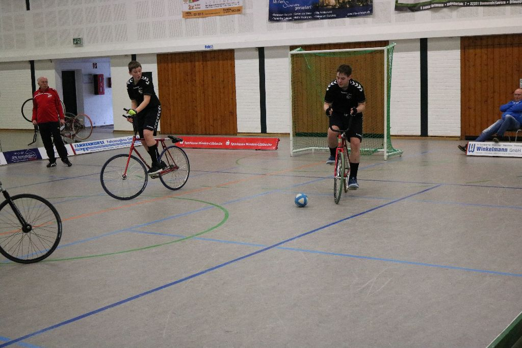U17 Radballer verpassen Teilnahme an der Landesmeisterschaft
