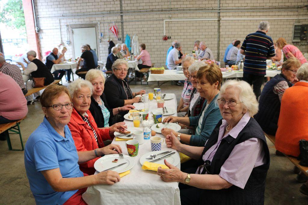 Seniorenfrühstück ein voller Erfolg