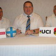 Vertrag mit der UCI unterschrieben