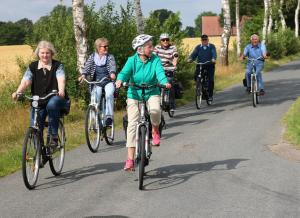 2018-06-17 VRF Fahrradtour bei sonnigem Wetter