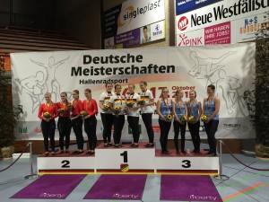 4er Einradsport Elite Frauen
