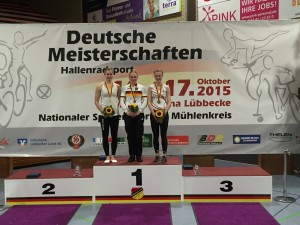 1er Kunstradsport Elite Frauen