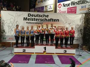 4er Kunstradsport Elite Frauen