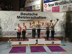 2er Kunstradsport Elite Frauen